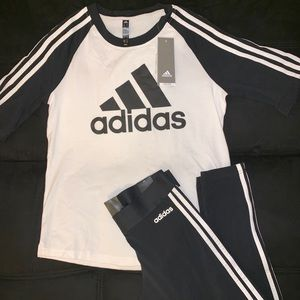 SUPER CUTE ADIDAS OUTFIT SIZE M